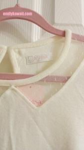 Liz Lisa long sleeve shirt details front