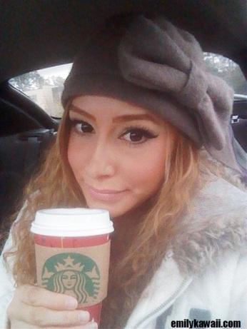 soy chai tea latte from Starbucks