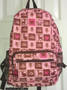 Ank Rouge Bambi Fold backpack