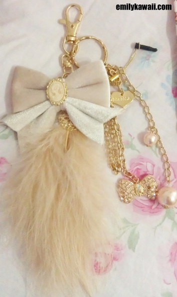 Liz Lisa Twinkle feather bow charm