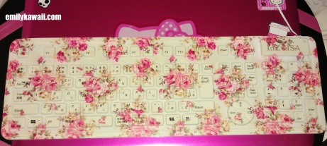Liz Lisa Floral Keyboard